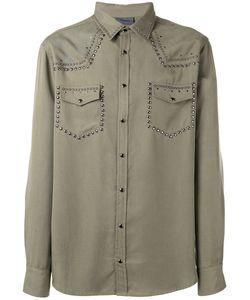 Laneus | Embellished Shirt Size 48