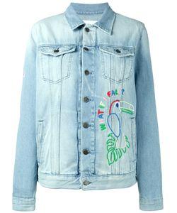 Mira Mikati | Hama Bead Embellished Denim Jacket Size 38