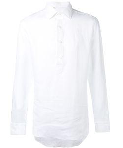Salvatore Piccolo   Half Button Placket Shirt
