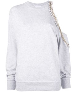 Forte Couture   Chained Asymmetric Sweatshirt