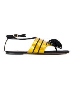 L'Autre Chose | Pompom Flat Sandals