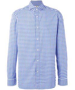 Borrelli | Checked Shirt 44 Cotton