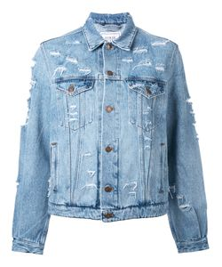 Forte Couture | Yeah Distressed Denim Jacket Size Medium
