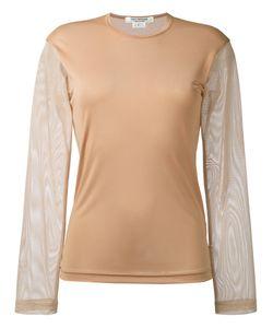 Junya Watanabe Comme Des Garçons | Mesh Sleeve Sweatshirt Women