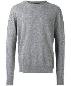 Raf Simons   Round Neck Stitch Sweater Size Medium