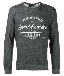 Love Moschino | Logo Print Sweatshirt