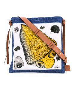 Loewe | Fossil Print Messenger Bag