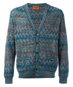Missoni | V-Neck Cardigan 54 Cotton/Linen/Flax/Nylon/Rayon