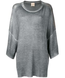 Nude | Ribbed Trim Sweatshirt 40 Silk/Cashmere/Wool