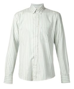 Umit Benan | Striped Button Down Shirt