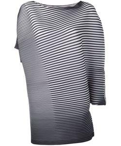 Issey Miyake | Asymmetric Stripe Blouse