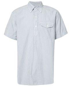 Engineered Garments | Seersucker Short Sleeve Shirt Size Medium