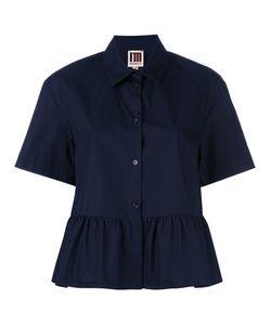 I'M Isola Marras | Ruffled Shortsleeved Shirt Size 42
