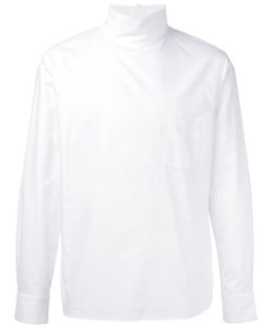 Facetasm | High Neck Zipped Shirt Men