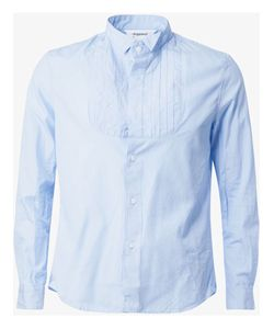 Digawel | Pleated Bib Shirt