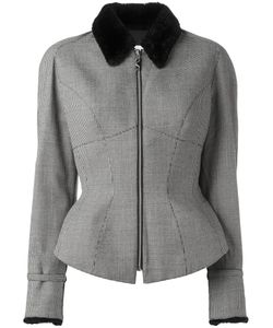 Thierry Mugler Vintage | Houndstooth Jacket Size