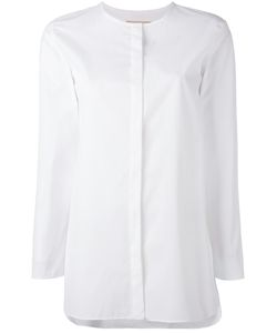 'S Max Mara | S Max Mara Collarless Shirt Size 42