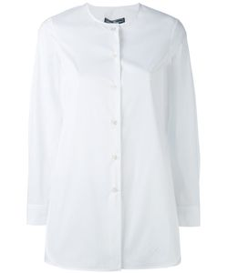 Salvatore Ferragamo | Collarless Shirt 44