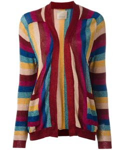 Laneus | Striped Knit Cardigan Size 44