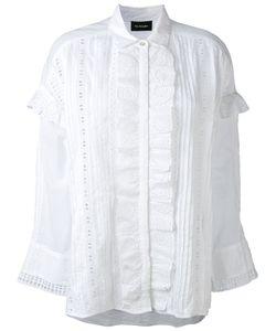 The Kooples   English Embroidery Ruffled Shirt