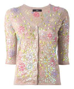 Steffen Schraut | Embroidery Cardigan 36 Polyester/Viscose/Cashmere/Polyamide