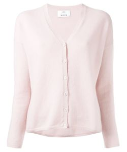 Allude   V-Neck Buttoned Cardigan Size Large