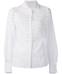 Ermanno Scervino | Embroidered Bib Shirt