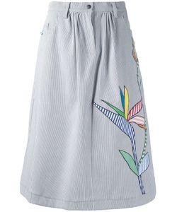 Mira Mikati | Embroidered Skirt 38