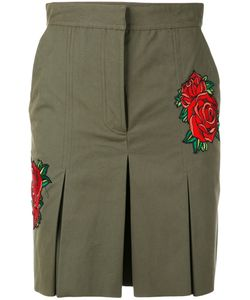 Each X Other | Rose Embroidered Shorts