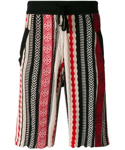 Laneus | Jacquard Bermuda Shorts Size 50