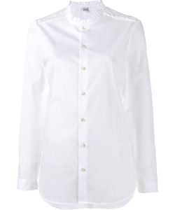 Marie Marot | Frill-Trimmed Diana Shirt Medium Cotton