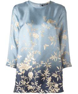 'S Max Mara | Print Shirt 46 Silk