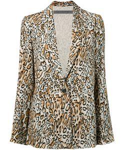 Raquel Allegra   Leopard Print Blazer Women