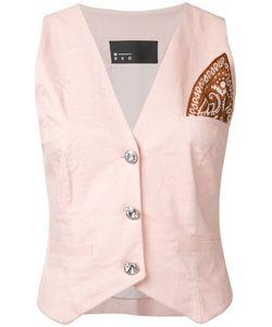 N Duo   Patch Waistcoat Size