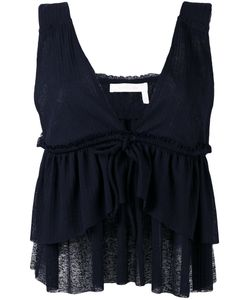 See by Chloé | Layered Ruffle Blouse Size Small