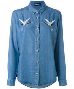 The Kooples   Birds Embroideries Denim Shirt