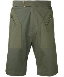Les Hommes | Zipped Pocket Chino Shorts