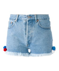 Forte Couture   Frayed Hem Shorts