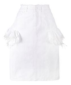 Preen by Thornton Bregazzi | Ruffle Denim Skirt