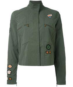 Tomas Maier | Patched Shirt Jacket