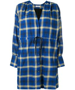 Roseanna | Check Wrap Dress