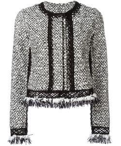 Jonathan Simkhai | Ruffle Tweed Jacket Small