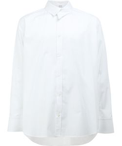 Aganovich | Asymmetric Collar Shirt 46 Cotton