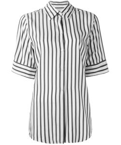 Studio Nicholson | Striped Shortsleeved Shirt 0 Silk