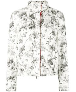 Moncler Gamme Rouge | Botanical Print Jacket Polyester/Feather/Duck