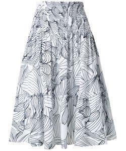 Isolda   Printed Skirt Women 38