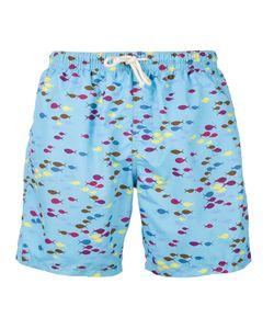 Drumohr | Fish Print Swim Shorts Men