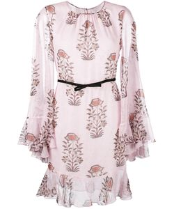 Giambattista Valli | Print Longsleeved Dress Size 44