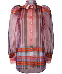 Daizy Shely | Checked Shirt 42 Silk