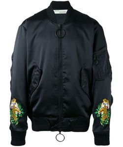 Off-White | Tiger Embroidered Bomber Jacket Small